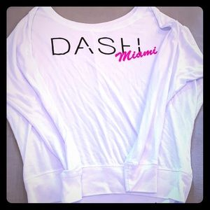 Dash Miami dolman top size small